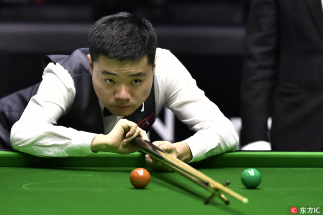 Snooker: Top Players At The China Open